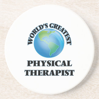 World's Greatest Physical Therapist Coasters