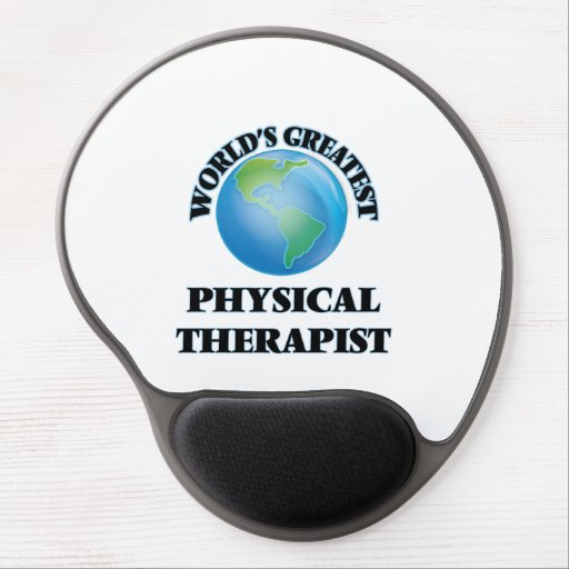 World's Greatest Physical Therapist Gel Mouse Mat