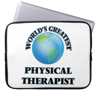 World's Greatest Physical Therapist Laptop Computer Sleeves