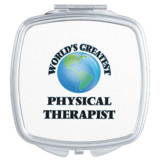 World's Greatest Physical Therapist Vanity Mirror
