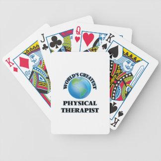 World's Greatest Physical Therapist Card Decks