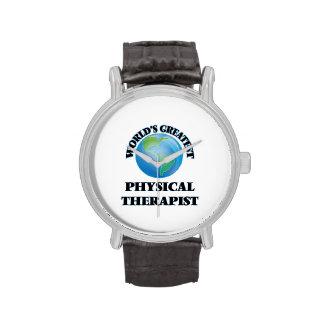 World's Greatest Physical Therapist Wristwatch