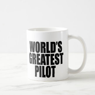 World's Greatest Pilot Coffee Mug