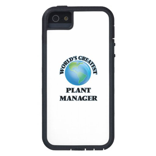 World's Greatest Plant Manager Case For iPhone 5