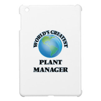 World's Greatest Plant Manager iPad Mini Cover