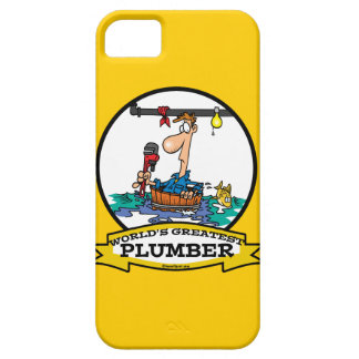 WORLDS GREATEST PLUMBER IV MEN CARTOON iPhone 5 COVERS