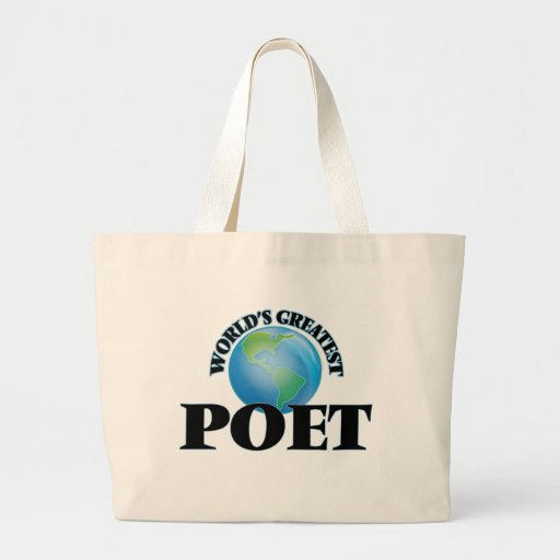 World's Greatest Poet Bag