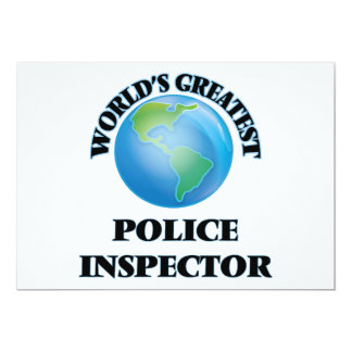 World's Greatest Police Inspector Announcement