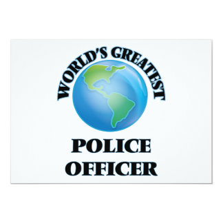 World's Greatest Police Officer Announcement