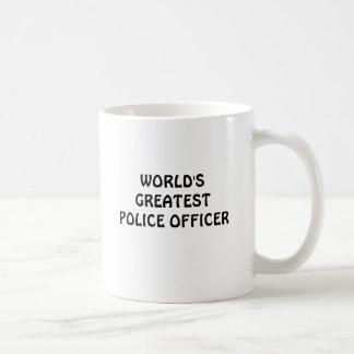 World's greatest police officer mug