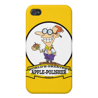 WORLDS GREATEST POLISHER CARTOON COVERS FOR iPhone 4