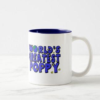 World's Greatest Poppy Two-Tone Mug