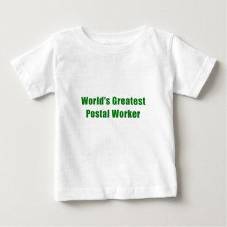Worlds Greatest Postal Worker Baby T-Shirt