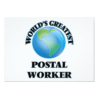 World's Greatest Postal Worker Cards