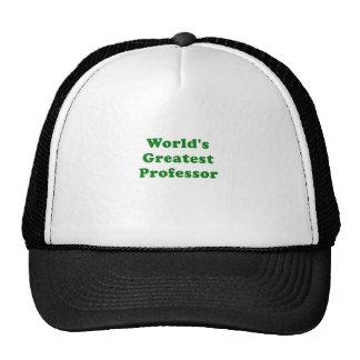 Worlds Greatest Professor Cap
