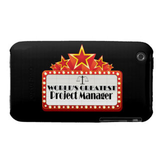 World's Greatest Project Manager iPhone 3 Case-Mate Case