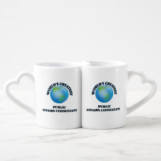 World's Greatest Public Affairs Consultant Couple Mugs