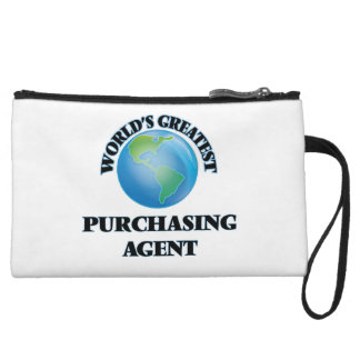 World's Greatest Purchasing Agent Wristlet Clutches