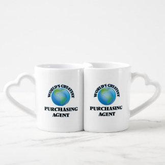 World's Greatest Purchasing Agent Lovers Mug Set