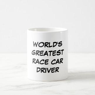 """World's Greatest Race Car Driver"" Mug"
