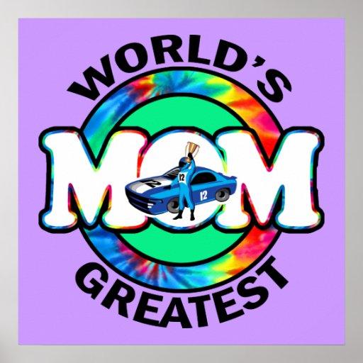 World's Greatest Racing Mom Print