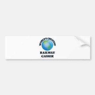 World's Greatest Railway Gasser Bumper Sticker