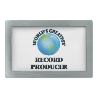 World's Greatest Record Producer Belt Buckles