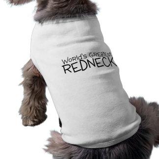 Worlds Greatest Redneck Sleeveless Dog Shirt