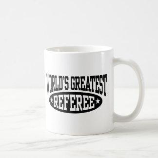 World's Greatest Referee Coffee Mug