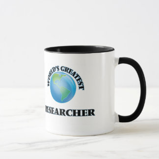 World's Greatest Researcher Mug