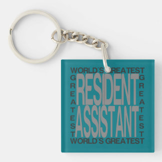 Worlds Greatest Resident Assistant Key Ring