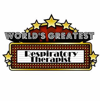 World's Greatest Respiratory Therapist Standing Photo Sculpture