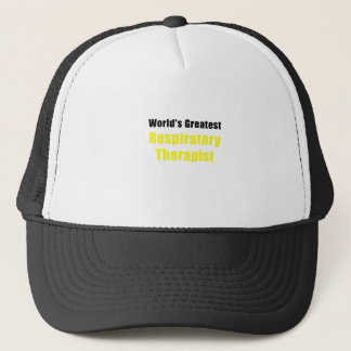 Worlds Greatest Respiratory Therapist Trucker Hat
