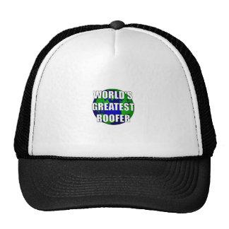 World's Greatest Roofer Mesh Hat