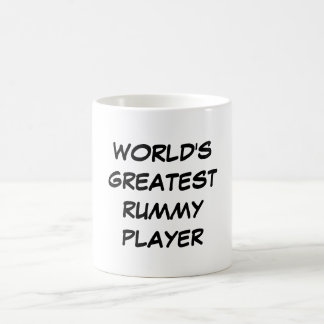 """World's Greatest Rummy Player"" Mug"
