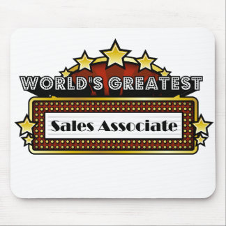 World's Greatest Sales Associate Mouse Pad