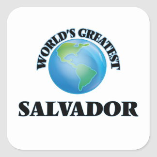World's Greatest Salvador Stickers