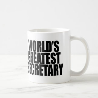 World's Greatest Secretary Mug