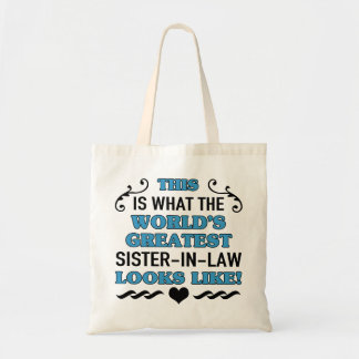 World's Greatest Sister-In-Law Tote Bag