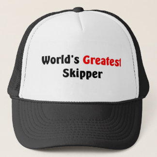 World's Greatest Skipper Trucker Hat
