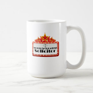 World's Greatest Solicitor Basic White Mug