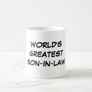 """""""World's Greatest Son-in-Law"""" Mug"""