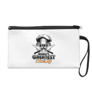 World's Greatest Sous Chef v4 Wristlet Purses