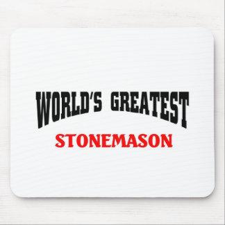 World's greatest Stonemason Mouse Pad