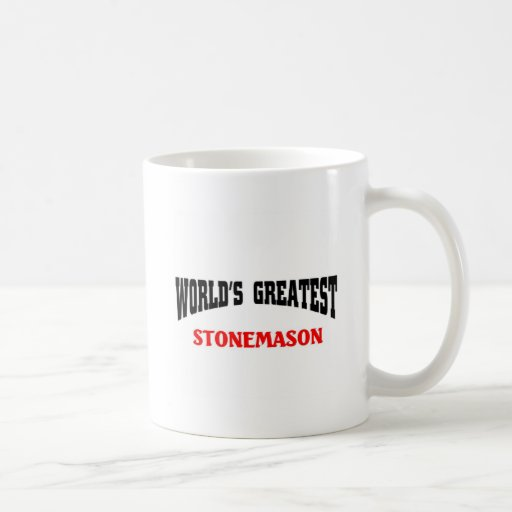 World's greatest Stonemason Mug
