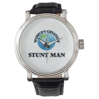 World's Greatest Stunt Man Wristwatches