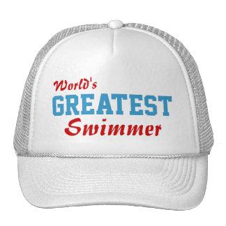 World's Greatest Swimmer Cap