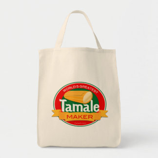 World's Greatest Tamale Maker Tote Grocery Tote Bag