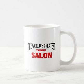 World's Greatest Tanning Salon Basic White Mug