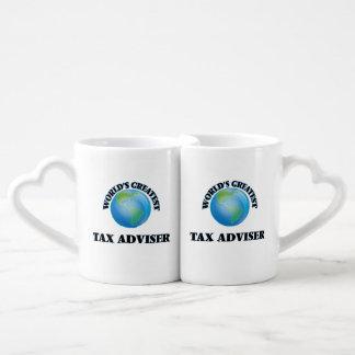 World's Greatest Tax Adviser Lovers Mug Sets